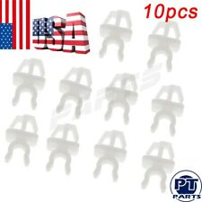 10 New White Hood Support Prop Rod Clip Retainer Fit For Toyota Scion MR2 Pickup