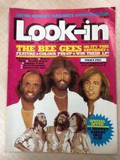 LOOK-IN COMIC 15 15/04/1980 BEE GEES  CHARLIES ANGELS SMURFS MORK & MINDY