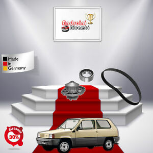 KIT DISTRIBUZIONE + POMPA ACQUA FIAT PANDA 750 25KW DAL 1991-> FP04433V