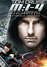 DVD - MISSION : IMPOSSIBLE  4  GHOST PROTOCOL (2011)  TOM CRUISE   (NEW)