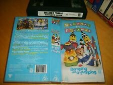 *BANANAS IN PYJAMAS - JUMPING AND A-BUMPING* ABC For Kids - Original VHS Video!