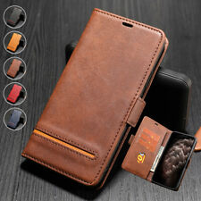 For iPhone 11 Pro Max XR XS 6S 7 8 Plus Magnetic Wallet Case Leather Flip Cover