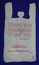 Thank You T Shirt 16 Barrel Bags 115 X 65 X 22 Plastic Retail Shopping