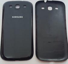 Samsung Galaxy S3 Akkudeckel Backcover  Rückseite aus PP Schwarz