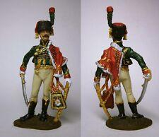 PEINT! Officier des chasseurs à cheval de la garde, France 1809 / 54 mm