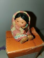 "New Friends of the Feather Figurine Enesco ""Wrapped In Love"""