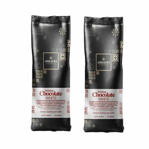 Arkadia White Drinking Chocolate (1kg)x2