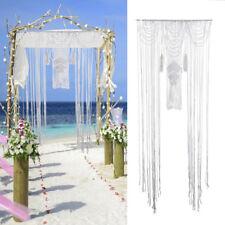 Door Window Curtain Macrame Boho Wall Hanging Tapestry Wedding Party Home Decor