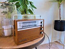 Schaub Lorenz Amigo Portable Transistor Radio / Kofferradio 1967 - Working