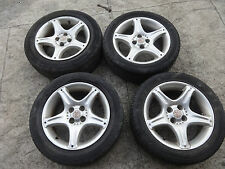 """MGF 1996-2002 Set of 4 x VVC 15"""" alloys alloy wheels with tyres"""