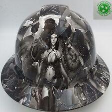 FULL BRIM Hard Hat custom hydro dipped , NEW FANTASY GIRLS SUPER HOT NEW