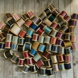 Assorted Job Lot Of 80 Mixed Sylko Threads - Plastic - Missing Labels/ Codes #21