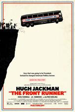 THE FRONT RUNNER MOVIE POSTER 2 Sided ORIGINAL FINAL 27x40 HUGH JACKMAN