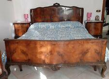 Camera da letto Chippendale, letto matrimoniale, 2 comodini, comò e armadio