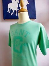 GANT ♛ Kurzarmshirt T-Shirt Top BIO ORGANIC COTTON grün 2 XL XXL 13 14 158 164