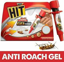 HIT Anti Roach Gel Cockroach Killer Odourless Attracts Hidden Cockroaches 20gm