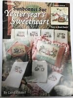 26 Sunbonnet Sue Cross Stitch Monthly Daily Design Wall Hanging Pillow Patterns