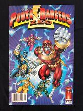 Power Rangers Zeo 1 NEWSSTAND VARIANT Image COMICS VF/NM