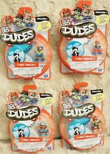 TECH DECK DUDES LOT OF 4 SERIES 1: 2-PACK NEW & SEALED