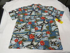 HAWIIAN AVIATION SHIRT (Light BLUE)