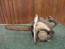 "Vintage REMINGTON LOGMASTER Chainsaw Chain Saw with 19"" Bar BIG OLD"