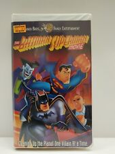 VHS The Batman Superman Movie Cleaning up The Planet One Villain at a Time