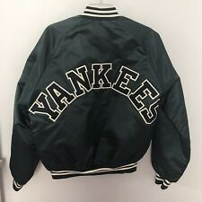 Vintage Chalk Line New York YANKEES Satin Varsity Jacket - Mens Small S