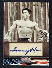 Tommy Kono signed autograph auto 2012 Panini Americana Heroes & Legends 115/302