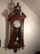 Vintage 8Day Clock English Stilled 8 Works 13x38 Inch Tall
