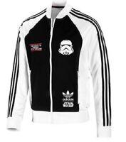 New Adidas Originals Stormtrooper Star Wars Track Jacket White Hoodie V33809