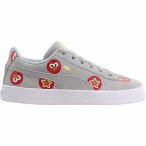 Puma Suede Badge X Sesame Street 50 Lace Up    Kids Boys  Sneakers Shoes Casual