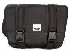 3d7fd4d245df Jeep Laptop Messenger Unisex School College Journey Courier Shoulder Bag  Black