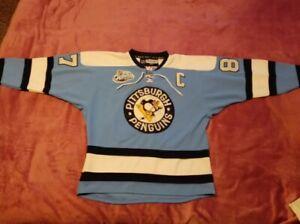 Reebok CCM NHL Pittsburgh Penguins Winter Classic Jersey Shirt #87 Crosby