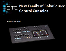 ETC ColorSource 20 Console - EASY Moving Head, LED Par, and Dimmer Control