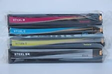 HP 970 XL 971 XL Set Ink Cartridges for Officejet Pro X576dw X476dw XL Chipped