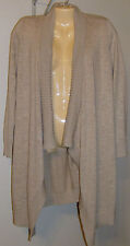 Chico's Sweater Andi Cardigan New Khaki Size 0, XS, 4-6 New with Tags Washable