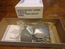 Tichy Train Group #2600 N Wood Water Tank Kit