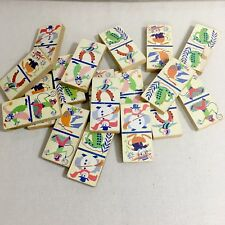 Vintage Picture Dominoes