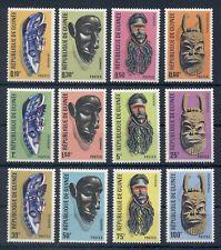 GUINEA* 1967* compl.set 12 stamps* MNH** Masks - Mi. 413-424