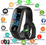 Smart Band Watch Bracelet Wristband Fitness Tracker Blood Pressure HeartRate M3<