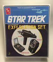 2014 AMT Star Trek EXPLORATION SET model props: Phaser Communicator, Tricorder