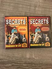 Secrets Of The Russian Dog Trainer 2 DVD Lot W Booklets * Dog Training RARE