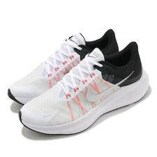 Nike Winflo 8 Blanco Negro Plata Hombres Correr Zapatos para Caminar CW3419-101