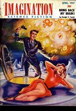 Imagination April 1957 Robert Silverberg Robert Moore Williams