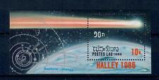 (W0999) LAOS, 1986, SPACE, BL. 112, MNH/UM, SEE SCAN