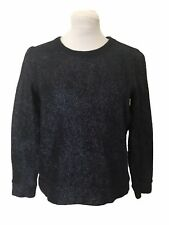 Gap metallic Sweater, Size S, Navy, Crew Neckline, Long Sleeves