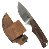 Benchmade HUNT Hidden Canyon Hunter Knife, Wood Grips