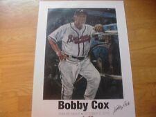 Bobby Cox Atlanta Braves SGA Tribute/Last Game Poster-2011-19.5 X 27
