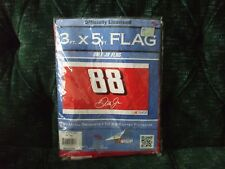 "Dale Earnhardt Jr 1/24 2011 Impala +3x5 flag also Dale Sr 38""x28"" fabric panel"