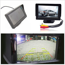 "Wired 12V ABS 4.3"" TFT LCD Car Rearview Reverse Camera Screen Display For Holden"